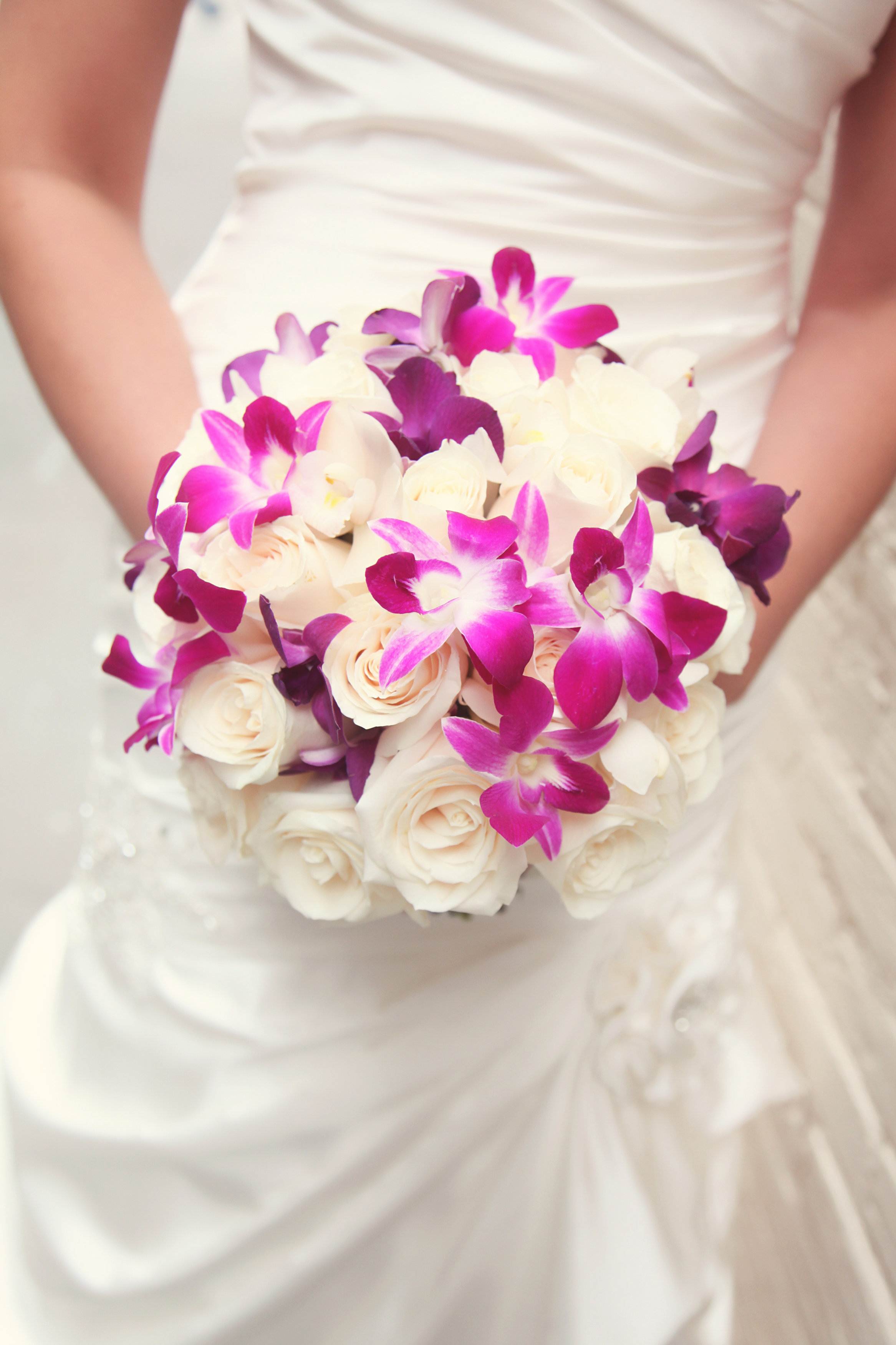 Purple And Pink Wedding Minnesota Wedding Florist Kmb Floral